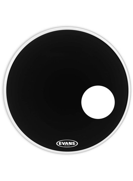 Evans Evans EQ3 resonant black with port 18 EVA BD20RB 18'' GEN EQ3 RES BK