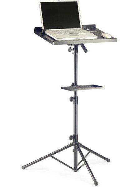 Stagg COS10BK Laptopständer mit zusätzlichen Blatt