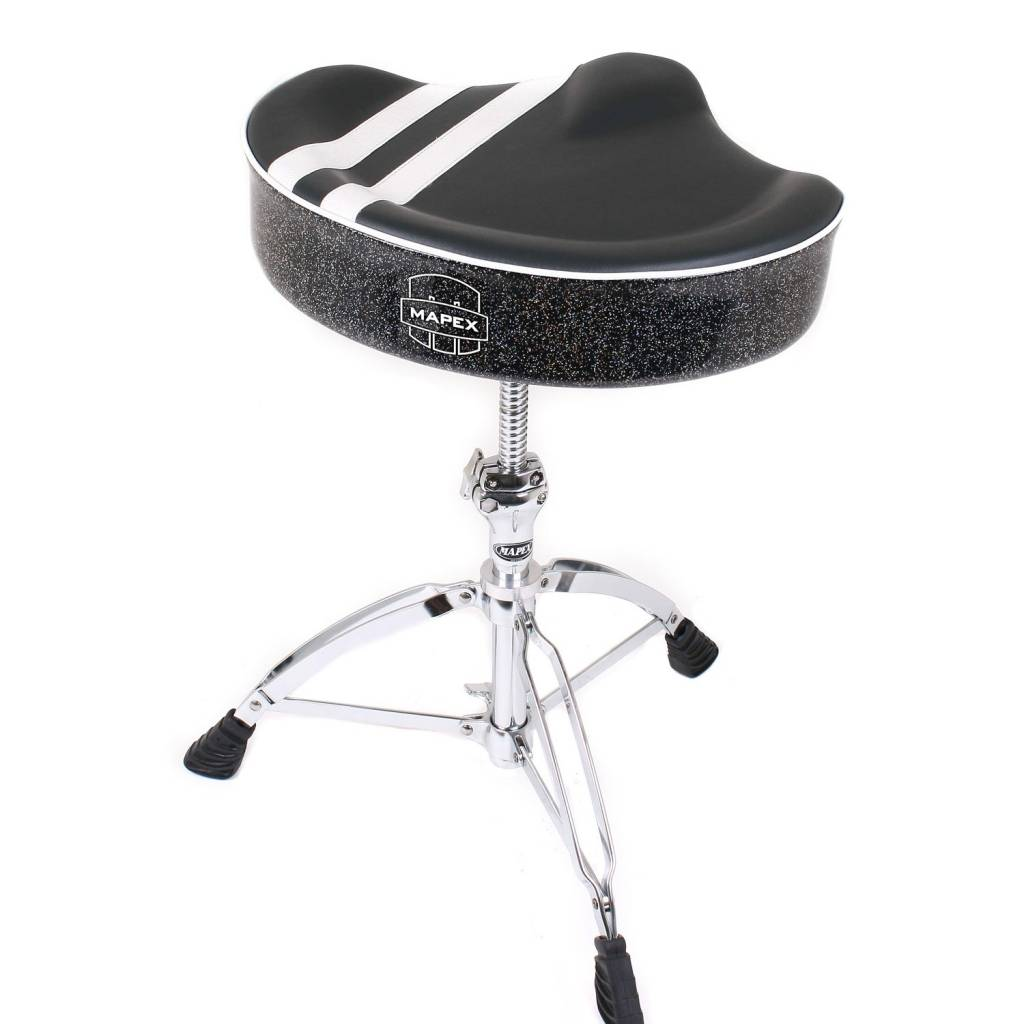 Mapex  T756B Drum Throne Saddle Seat, double-beens