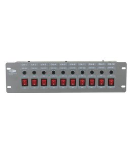 Showtec DJ switch 10