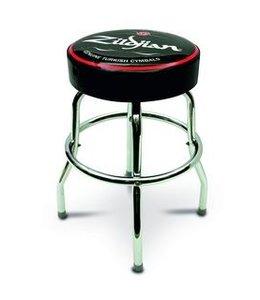 "Zildjian Bar stool, 24"", black/red, white logo"