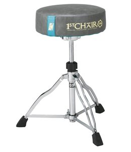 Tama HT430E6W  Drumhocker 1st Chair Round Reiter Trio Drum Hocker mit Flat Top Limited Edition Weiß