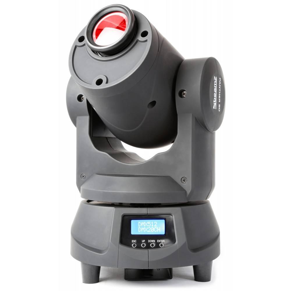Beamz  Professional Panther 50 Led Spot Moving Head demo model 2 stuks setprijs