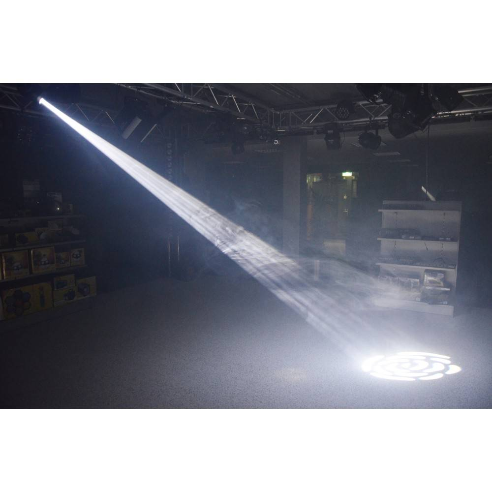 Beamz  Professional Panther 50 LED Spot Moving Head Demo