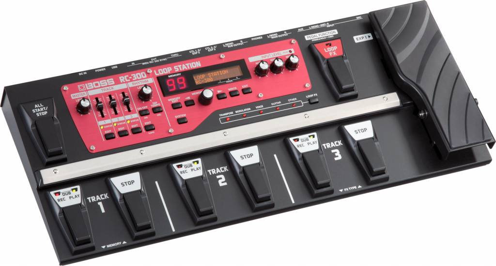 Boss Roland RC-300 loop station loop machine RC300