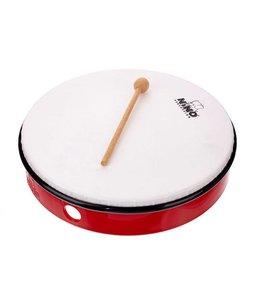 "Meinl NINO hand drum NINO6R abs hand drum 12 ""red incl. Wand"