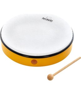 "Meinl NINO hand drum NINO5Y abs hand drum 10 ""yellow incl. Wand"