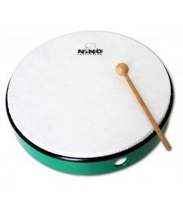 "Meinl NINO hand drum NINO5GG abs hand drum 10 ""green incl. Wand"