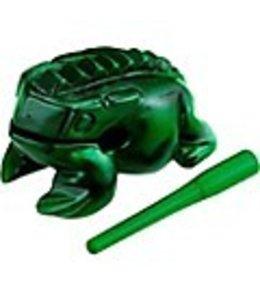 Meinl NINO PERCUSSION Guiro Frog NINO516GR, extra large, green kikker quiro rasp