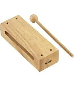 Meinl Nino Percussion NINO22 NINO WOOD BLOCK LARGE WOOD BLOCK