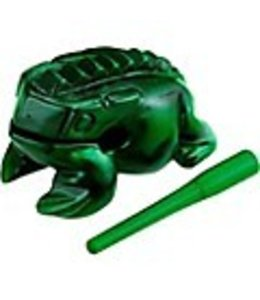 Meinl NINO PERCUSSION Guiro Frog NINO514GR, medium green