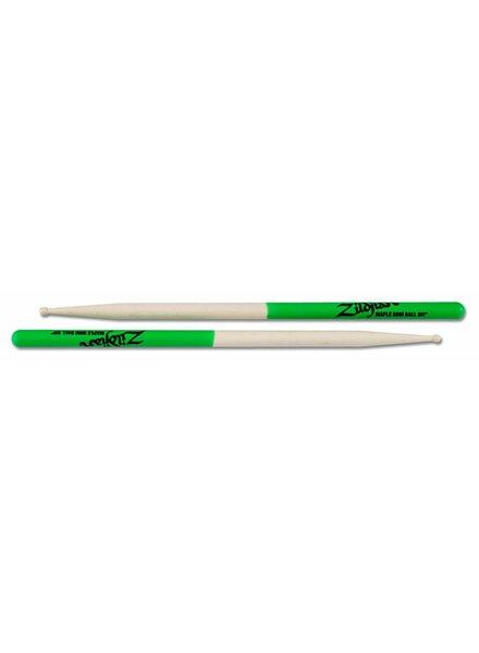 Zildjian MPLMG drumstokken Mini Ball Green Dip, Maple-serie ZIMPLMG