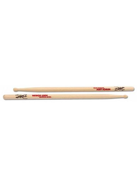 Zildjian drumsticks ASMS Artist series, Matt Sorum, Wood Tip, natural color ZIASMS