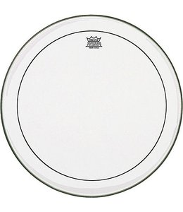 "REMO PS-1324-00 Pinstripe Clear 24 inch, 24"" bassdrum vel"
