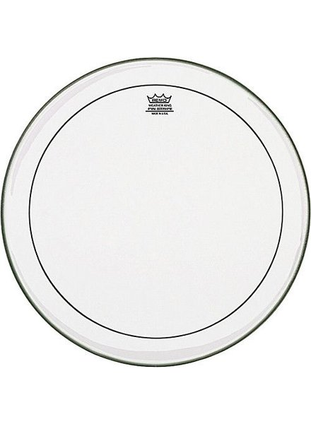 """REMO PS-1324-00 Clear Pinstripe 24 inch, 24 """"bass drum skin"""