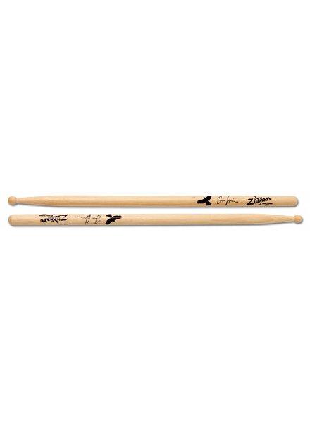 Zildjian ASTH   drumsticks Artist Series, Tayler Hawkins, Wood Tip, natural color ZIASTH