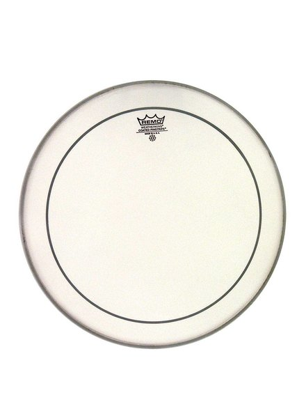 REMO PS-0108-00 Pinstripe 08 inch rough coated white tom