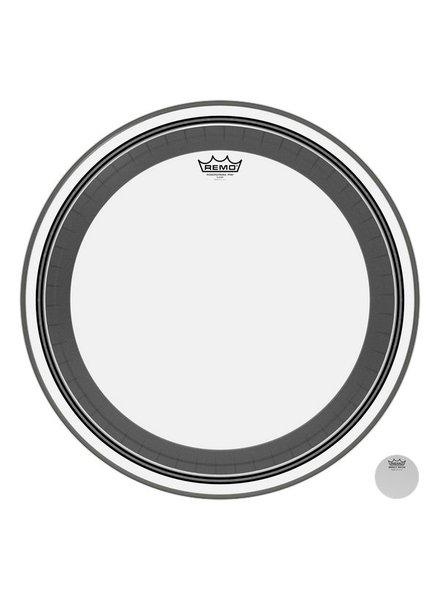 REMO PR 1324-1300 Power Pro Klare 24-Zoll-Bass-Drum-Haut