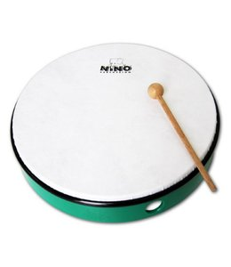 "Meinl NINO hand drum NINO6GG abs hand drum 12 ""green incl. Wand"