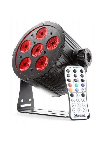 Beamz BAC406 Aluminium LED PAR Spot 6x 18W 6-in-1 LED's 151.304