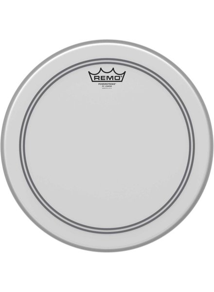"REMO P3-0113-BP Powerstroke 3 coated raw white 13 ""tom sheet"
