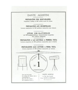 de Haske Dante Agostini preparation for sight reading part 1