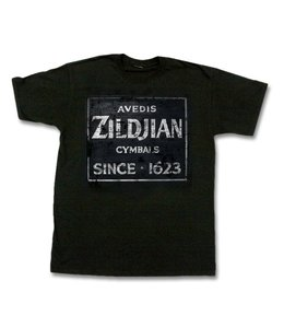 Zildjian ZIT4672 T-shirt Quincy Vintage Sign, M, black KTZIT4672