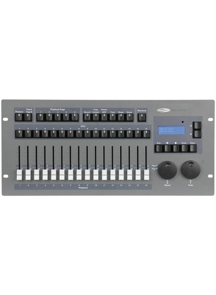 Showtec SM-16/2 32 FX Channel Lighting Desk with Shape Engine 50702