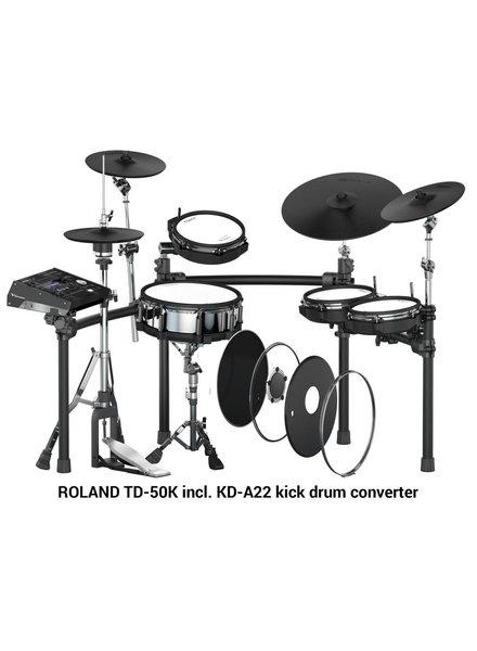 Roland TD-50K TD50K-S incl. KD-A22 kick drum converter