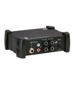 DAP audio pro DAP Audio AMP-104 4-Kanal-Kopfhörerverstärker Kopfhörermischer D1536