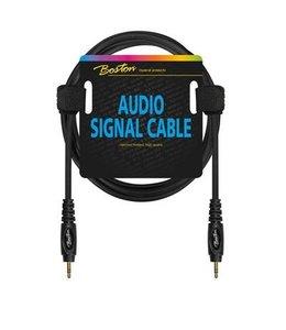 Boston Audio-Signalkabel, 3,5 mm Mini-Stereo-Miniklinke auf Stereo, 3,00 Meter
