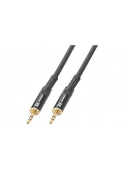 PD Power Dynamics PD Connex Kabel 3.5mm Stereo Male - 3.5mm Stereo Male 1.5m