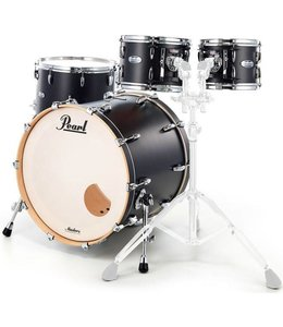 Pearl MCT924XEP_C339  Masters Maple Matte Caviar Black 4-piece Shellset