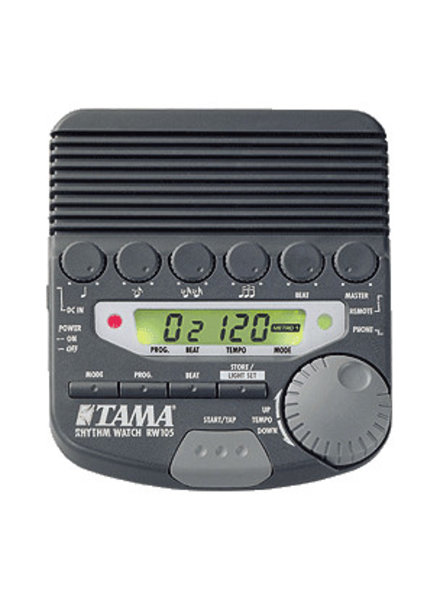 Tama RW105 Rhythm Watch metronoom demo