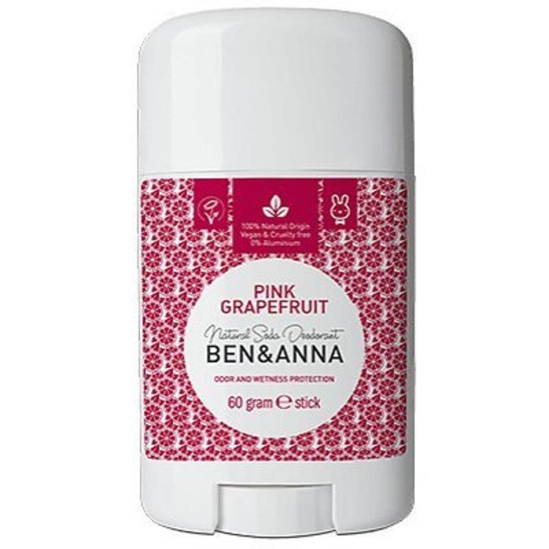 Ben & Anna Natuurlijke deodorant stick Pink Grapefruit