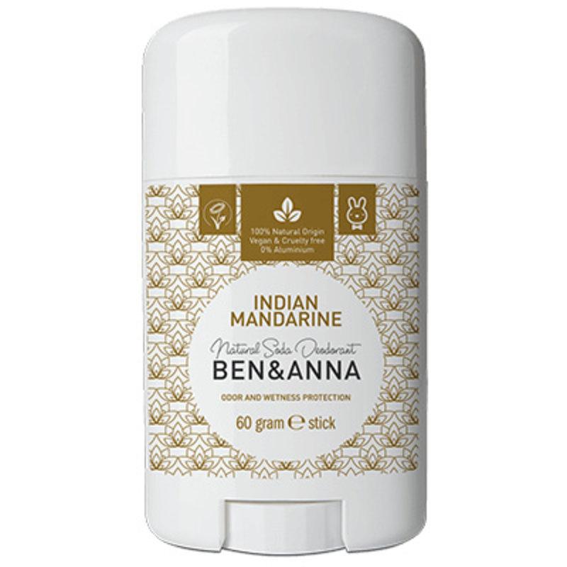 Ben & Anna Natuurlijke deodorant stick Indian Mandarine