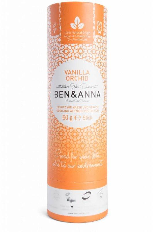 Ben & Anna Natuurlijke Eco Deo Stick Vanilla Orchid