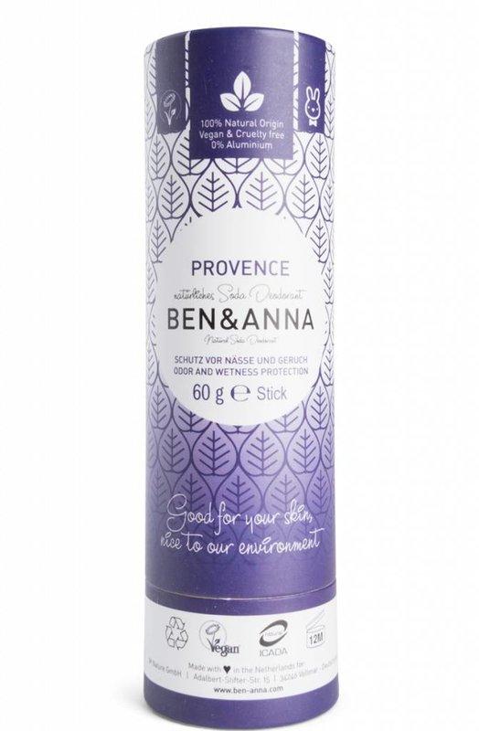 Ben & Anna Natuurlijke Eco Deo Stick Provence