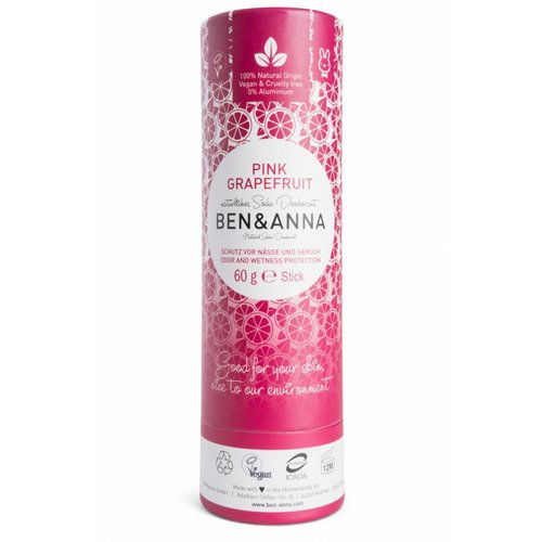 Ben & Anna Eco Deo Stick Pink Grapefruit