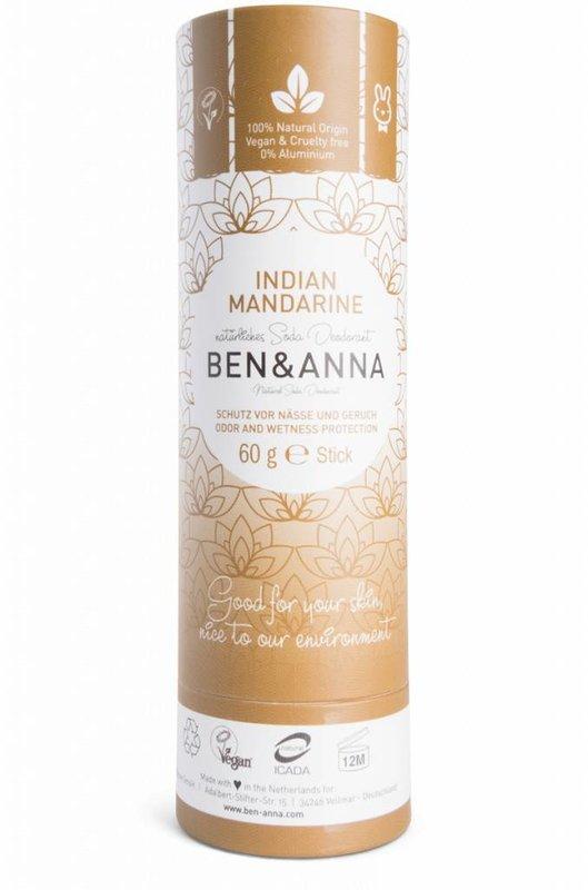 Ben & Anna Natuurlijke Eco Deo Stick India Mandarine