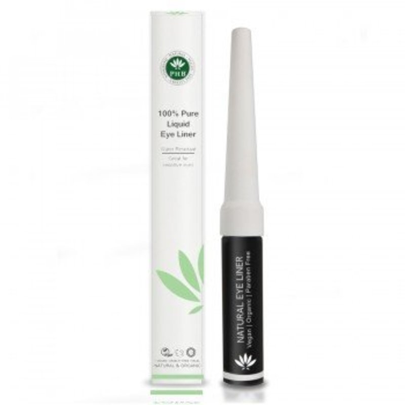 PHB Ethical Beauty Natuurlijke Vloeibare Zwarte Eyeliner