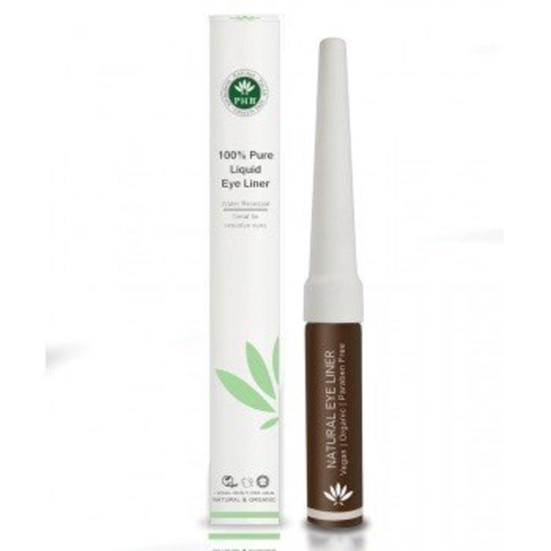 PHB Ethical Beauty Natuurlijke Vloeibare Bruine Eyeliner