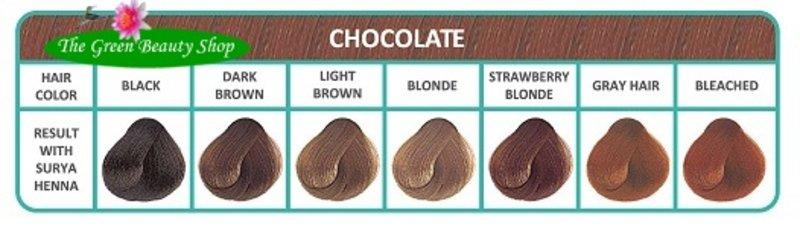 Surya Brasil Henna Cremekleuring Chocolat