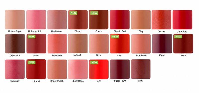 Zuii Organic Natuurlijke lippenstift Cranberry