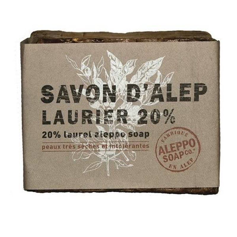Natuurlijke Aleppo Zeep 20% laurier