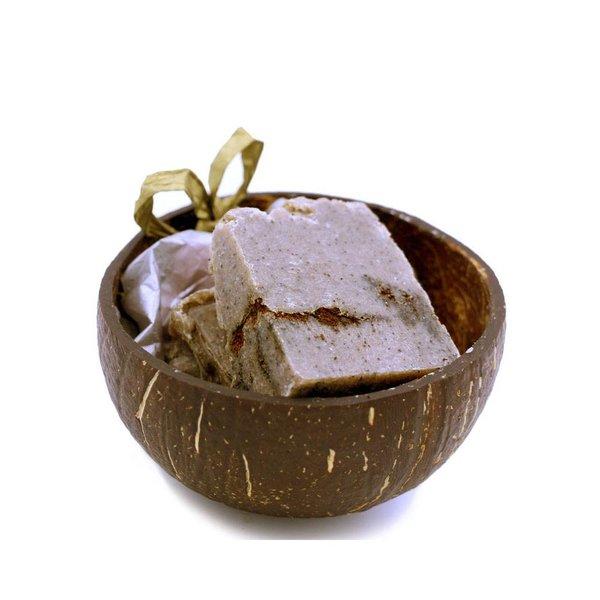 Kokosolie Zeepjes in Kokosnoot Coffee