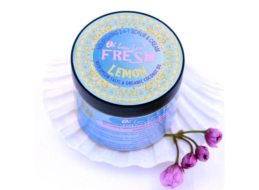 Epsoms Salt Scrub Fresh Lemon