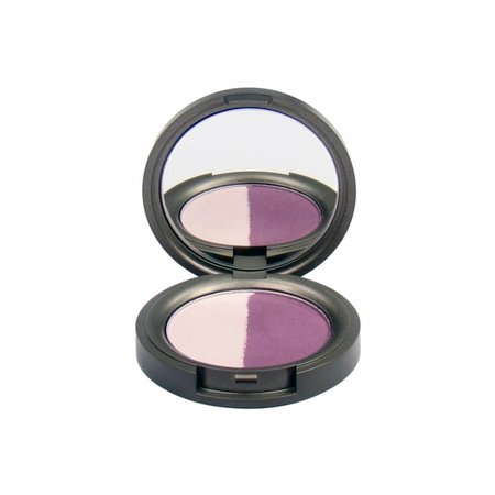 Beauty Without Cruelty Eyeshadow Duo Juicy Plum