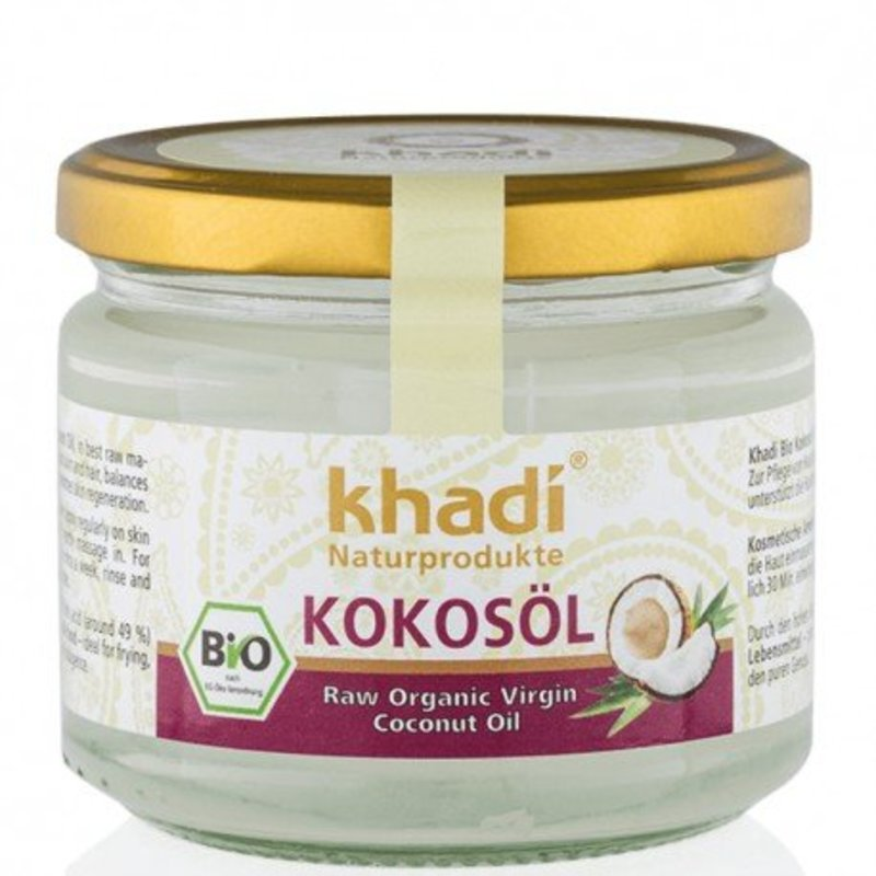 Khadi Zuivere parfumvrije kokosolie premium