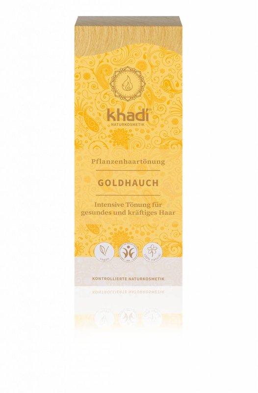 Khadi uitwasbare haarverf Goudgloed